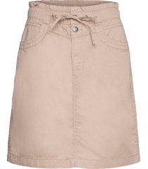 skirts woven kort kjol brun esprit casual