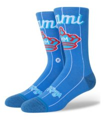 stance miami marlins city connect socks