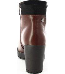 botines para mujer marca xti color café xti - marrón