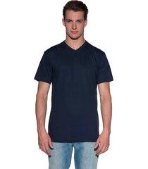 alan red t-shirt met korte mouwen blauw
