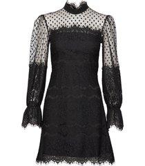 brie dress korte jurk zwart ida sjöstedt