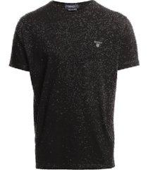 original ss t-shirt t-shirts short-sleeved svart gant