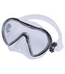 máscara para mergulho orbit mormaii preto .
