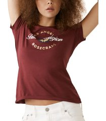true religion logo-print cotton t-shirt