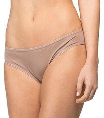 calcinha básica algodão egípcio nozes - 578.022 marcyn lingerie básica bege