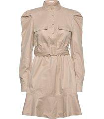 haniel korte jurk beige custommade