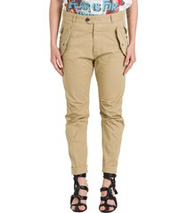 dsquared2 multi-pocket cropped trousers