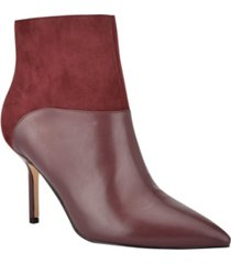 nine west women's eddie dress booties women's shoes
