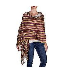 cotton shawl, 'valley in the sun' (guatemala)