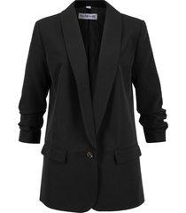 blazer lungo maite kelly (nero) - bpc bonprix collection