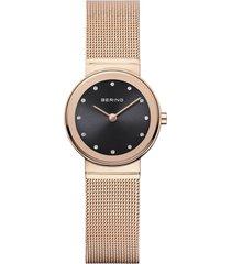 reloj classic oro rosa bering