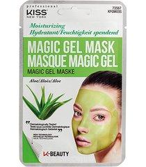 máscara facial kiss new york - magic gel mask aloe - 1 unid.