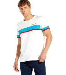 t-shirt korte mouw wrangler w7c19f