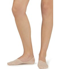 calzedonia unisex cotton invisible socks woman nude size 37-39