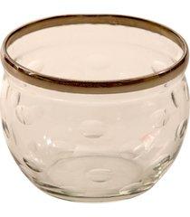 porta-velas de vidro drava