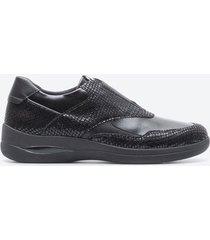 zapato casual mujer stonefly z1a8 negro