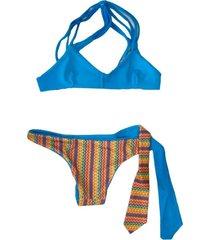 bikini turquesa innocenza reversible