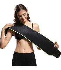las mujeres sudor slimming body shaper cintura formador fiebre correa