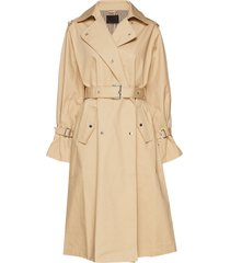2nd tallulah trenchcoat lange jas beige 2ndday