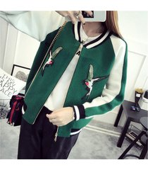 2017 knitted sweater women loose coats zipper cardigan outerwear jacket