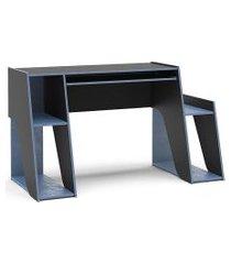 mesa kyoto preto/azul politorno