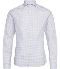 super slim fit business twill shirt overhemd business blauw eton