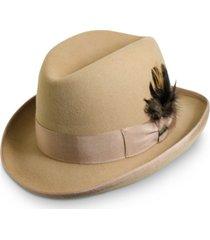 men's wool homburg hat