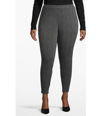 lane bryant women's textured ponte legging 26/28 textured herringbone
