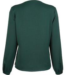 blus alba moda grön