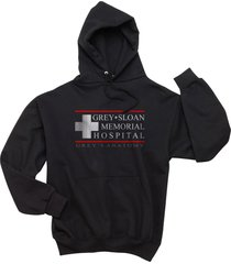 grey sloan memorial hospital greys anatomy unisex hoodie s-3xl black