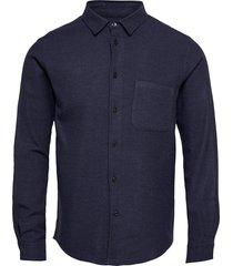 liam nf shirt 7383 overhemd casual blauw samsøe samsøe