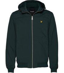 softshell jacket dun jack groen lyle & scott
