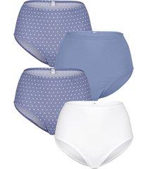 tailleslips harmony blauw::wit
