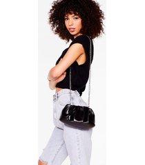 womens want hey let's hang mini crossbody bag - black