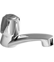 torneira de mesa para lavatório bica baixa zoom cromada