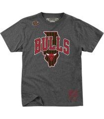 mitchell & ness chicago bulls men's state wordmark t-shirt