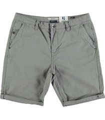 garcia fine cotton bermuda mist grey