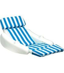swimline sunchaser cushion padded luxury loung chair