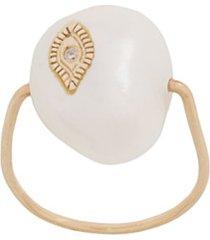 pascale monvoisin anel charlie de ouro amarelo 9k - dourado