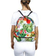 tula plegable estampado verano citybags multicolor
