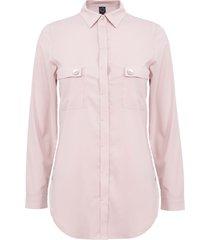 blusa io  ml rosa - calce holgado