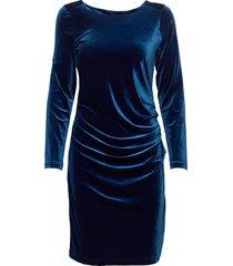 kelly dress korte jurk blauw kaffe