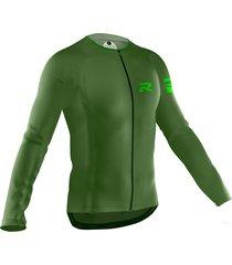 jersey fiorenzo manga larga verde