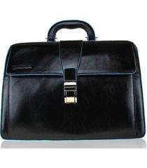 borsa medico piquadro blue square ca2007b2 nero
