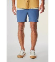 short board curto bicolor reserva masculino