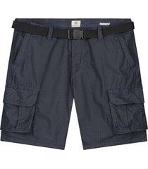 korte cargo broek donkerblauw