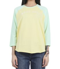 marc jacobs yellow baseball t-shirt
