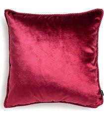 czerwona poduszka dekoracyjna glamour 45x45