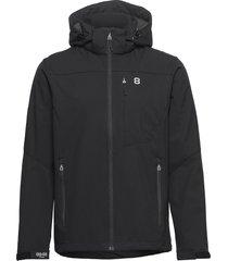 padore softshell jac outerwear sport jackets svart 8848 altitude