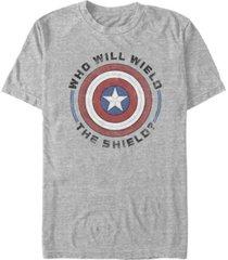 fifth sun men's wield shield short sleeve crew t-shirt